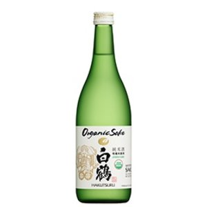 Hakutsuru Organic Junmai Sake ABV: 14.5% 720 mL