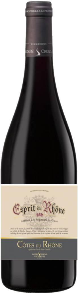 Esprit du Rhône 2014 Cotes du Rhone ABV: 12.5% 750 mL