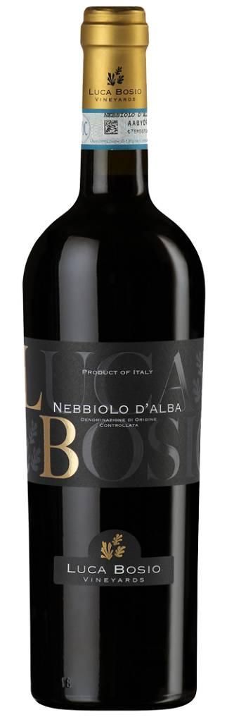 Luca Bosio 2015 Nebbiolo d'Alba ABV: 14% 750 mL