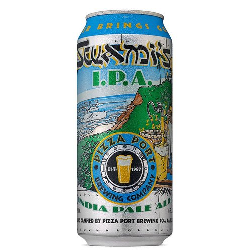 Pizza Port Swami's IPA ABV: 6.8% Can 16 fl oz 6-Pack