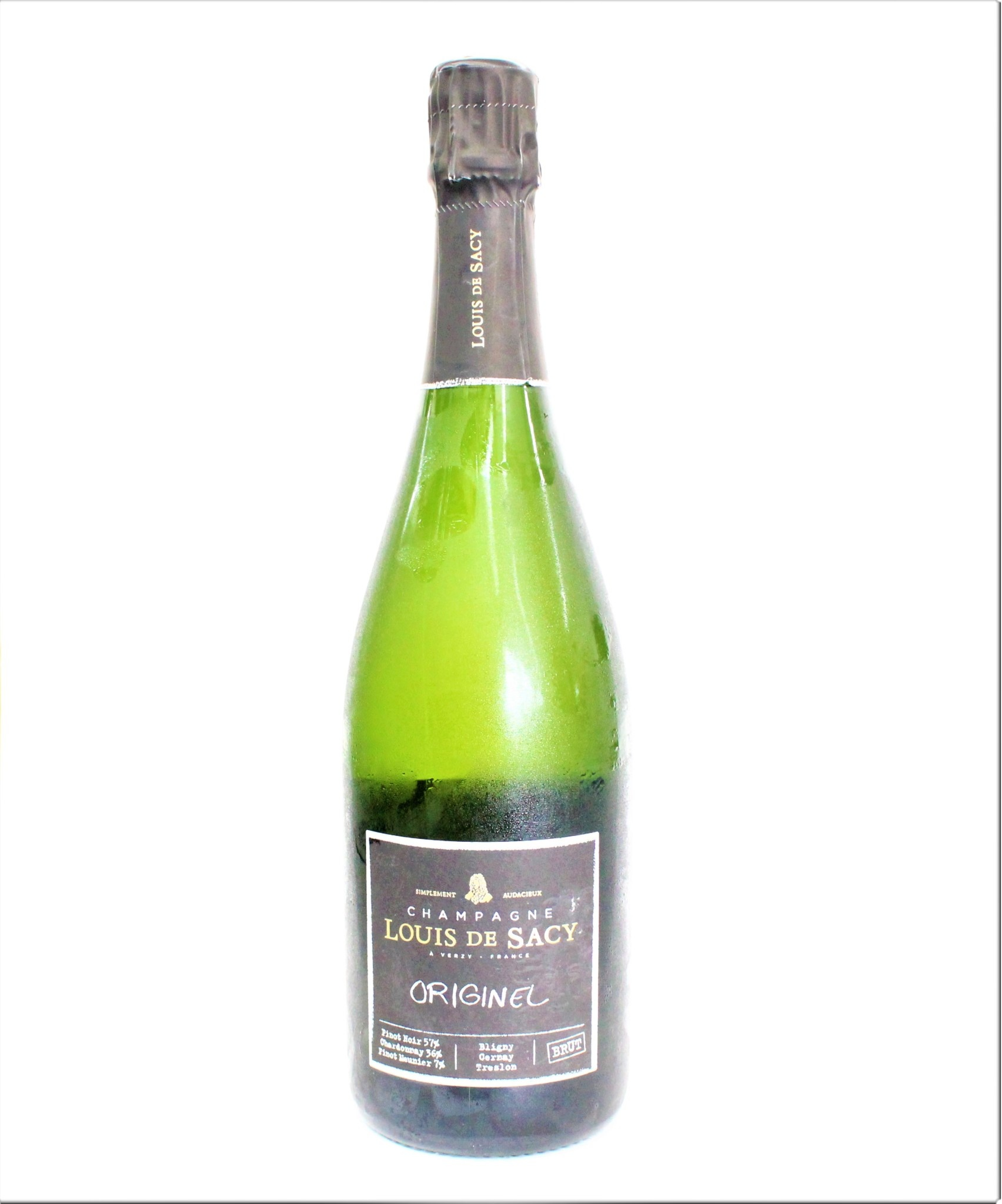 Champagne Louis de Sacy Originel Brut ABV: 12% 750 mL