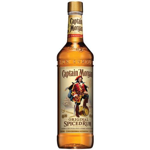 Captain Morgan Rum ABV: 40%