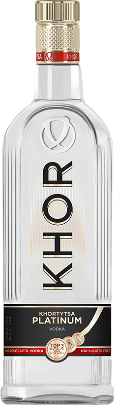 Khor Vodka Platinum ABV: 40% 100 mL