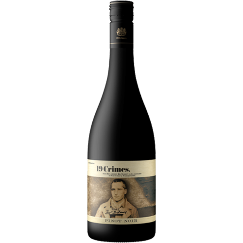 "19 Crimes ""The Punishment"" 2016 Pinot Noir ABV: 13.5% 750 mL"