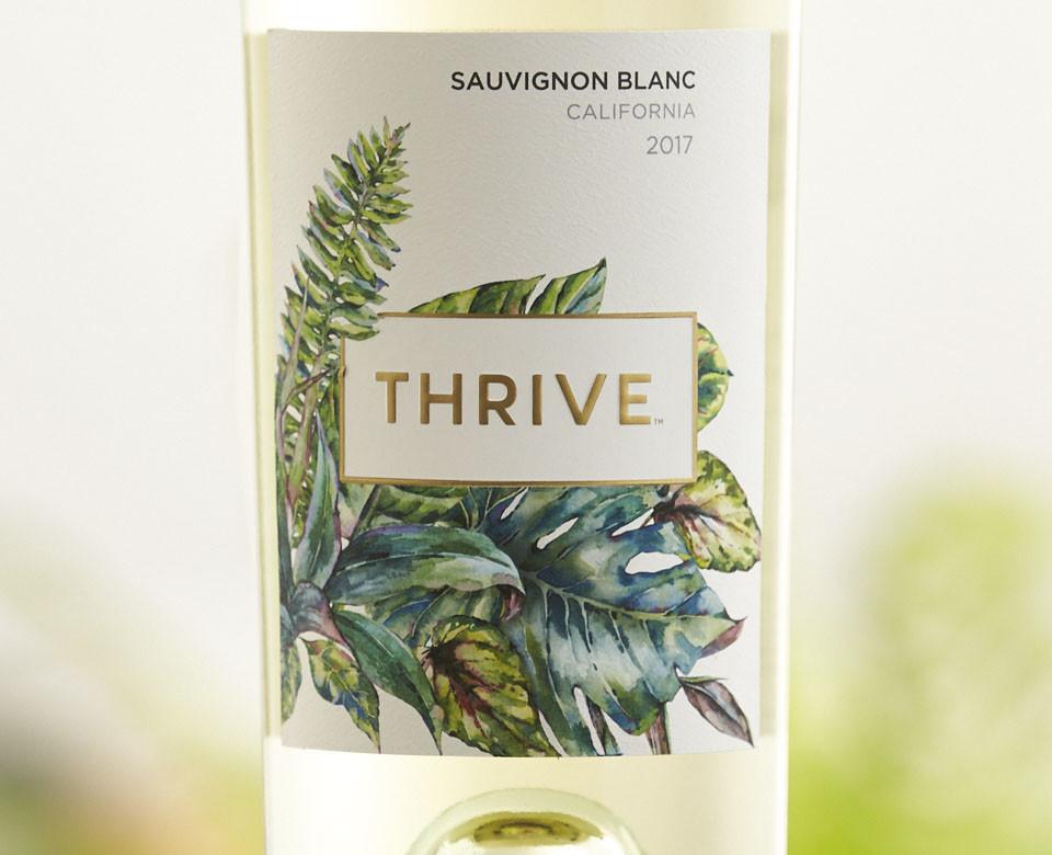 Thrive 2017 Sauvignon Blanc ABV: 12.8% 750 mL