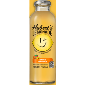 Hubert's Lemonade Mango 16 fl oz