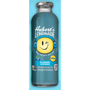 Hubert's Lemonade Blueberry 16 fl oz