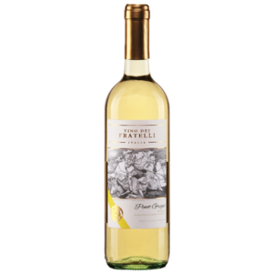 Vino dei Fratelli 2018 Pinot Grigio ABV: 12.5% 750 mL