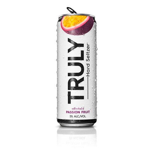 Truly Hard Seltzer ABV: 5% Passion Fruit 16 fl oz
