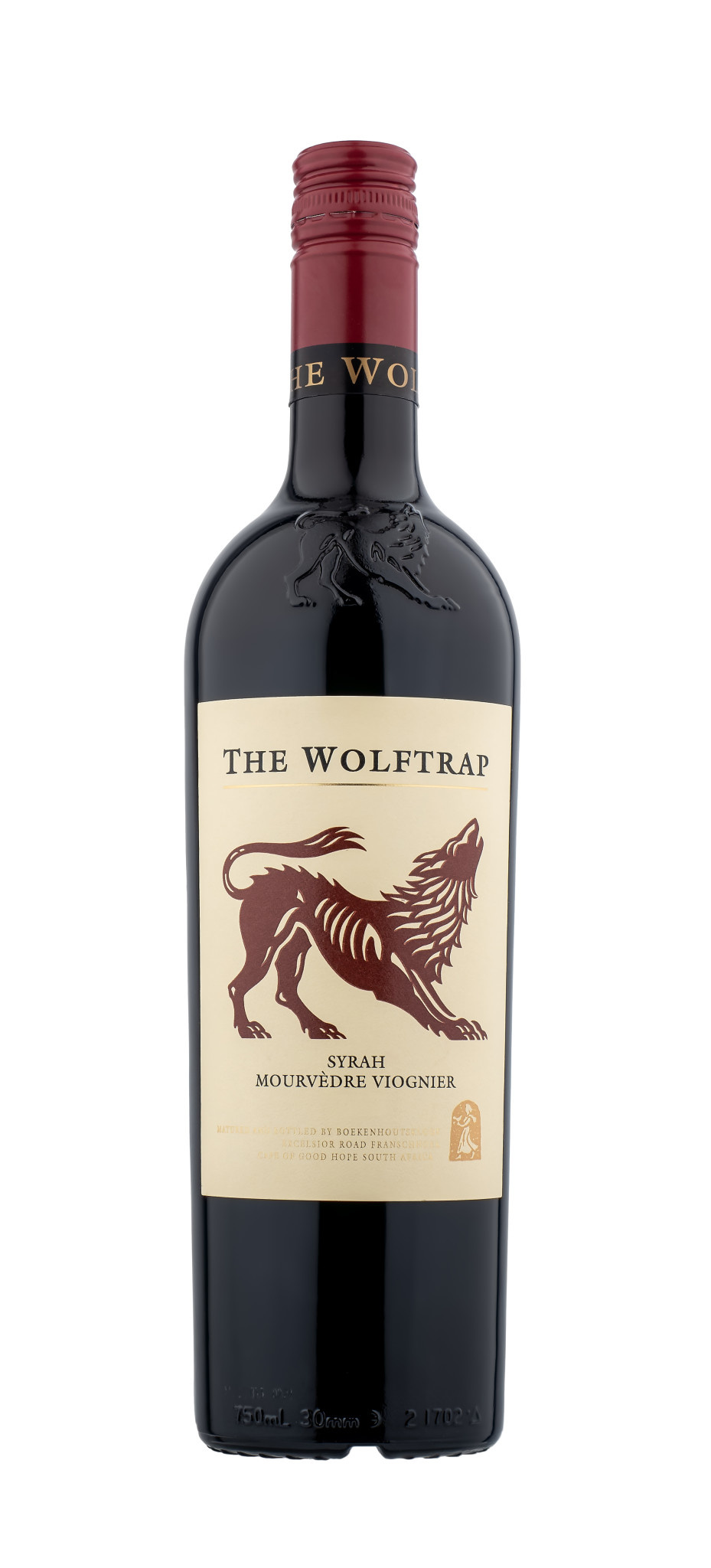 The Wolf Trap 2018 Red Blend ABV: 14.5% 750 mL