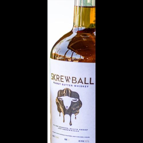 Skrewball Peanut Butter Whiskey ABV: 35% 750 mL