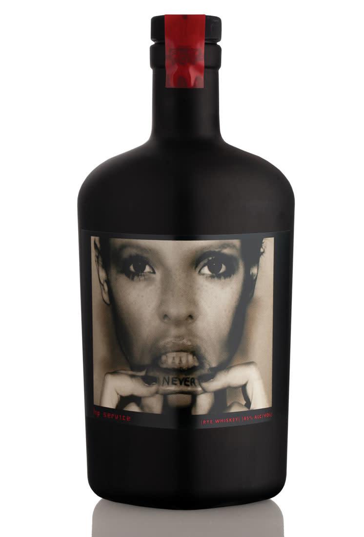 Lip Service (Savage & Cooke) Rye Whiskey ABV: 40% 750 mL