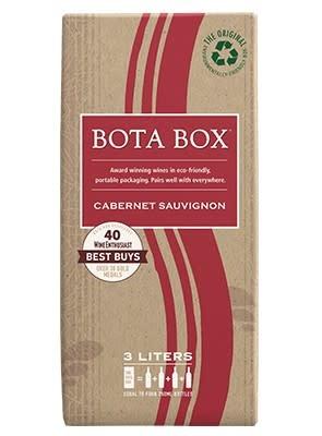 Bota Box Cabernet Sauvignon ABV: 13% 3 L