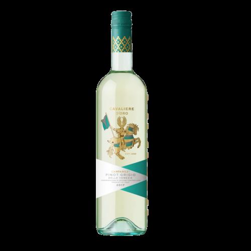 Cavaliere d'Oro 2018 Pinot Grigio ABV: 12% 750 mL