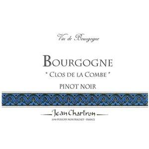 Jean Chartron Bourgogne 2015 Pinot Noir ABV: 13% 750 mL