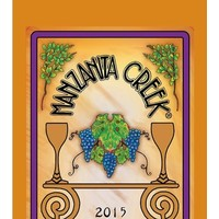Manzanita Creek 2015 Chardonnay ABV: 14.1% 750 mL
