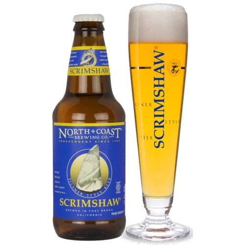 North Coast Scrimshaw Pilsner ABV: 4.7% Bottle 12 fl oz 6-Pack