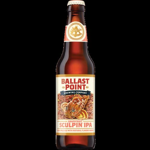 Ballast Point Grapefruit Sculpin IPA ABV: 7% Bottle 12 fl oz 6-Pack