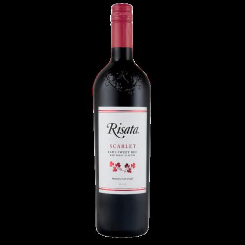 Risata Scarlet Semi-Sweet Red ABV: 5.5% 750 mL