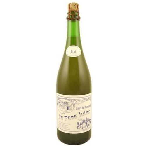 Le Pere Jules Cidre de Normandie Apple Cider Brut ABV: 5% 750 mL