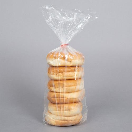 Plain Sliced Bagel 6 ct