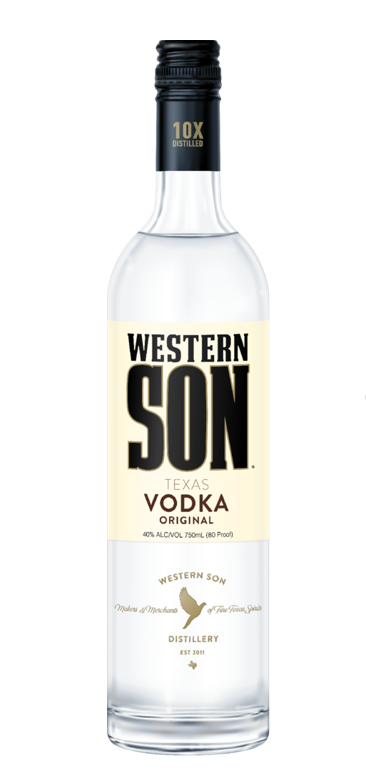Western Son Texas Vodka Regular ABV: 40% 375 mL