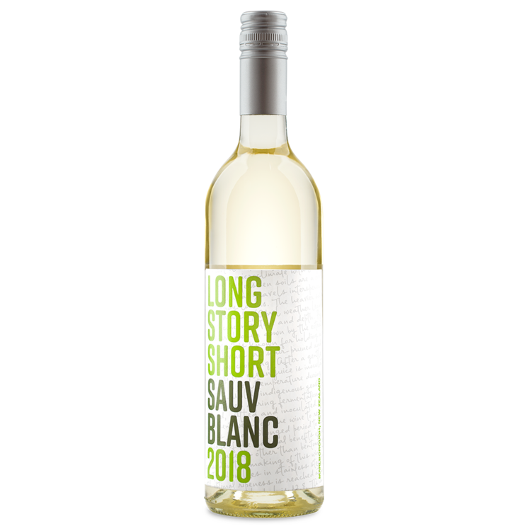 Long Story Short 2019 Sauvignon Blanc ABV: 12.5% 750 mL