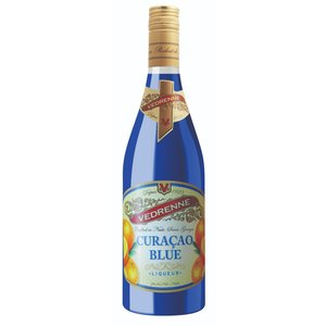 Vedrenne Blue Curacao ABV: 25% 750 mL