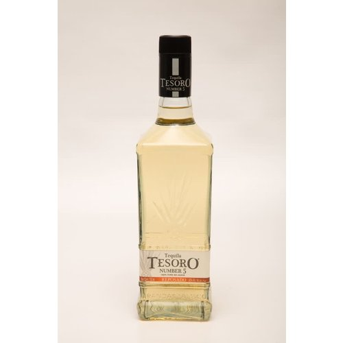 Tequila Tesoro Number 5 Reposado ABV: 40% 750 mL