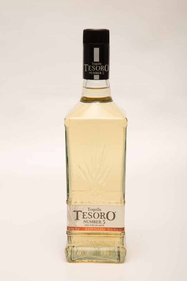 Tequila Tesoro Number 5 Reposado ABV: 40% 750 mL
