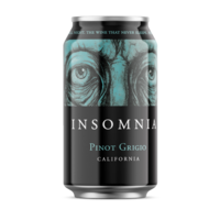 Insomnia Pinot Grigio ABV: 12.9% Can 355 mL