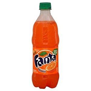 Fanta Orange Glass 355 mL