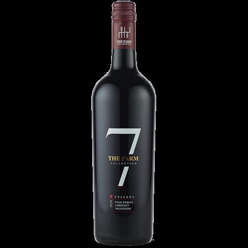 """7 Cellars """"The Farm Collection"""" Paso Robles 2018 Cabernet Sauvignon ABV: 13.9% 750 mL"""