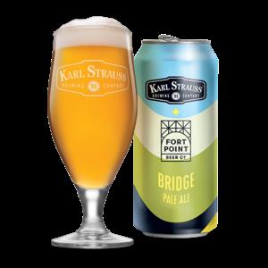Karl Strauss Bridge Pale Al eIPA ABV: 7.2% 16 fl oz 6-Pack