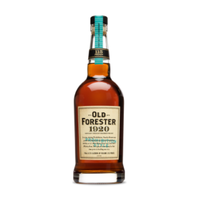 Old Forester 1920 Prohibition Style Whisky ABV: 57.5% 750 mL