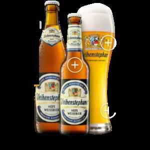 Weihenstephaner Hefe Weissbier ABV: 5.4% Bottle 11.2 fl oz 6-Pack