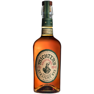 Michter's Single Barrel Kentucky Straight Rye Whiskey ABV: 42.4% 750 mL