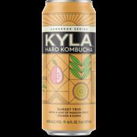 Kyla Sunbreak Hard Kombucha ABV: 4.5%