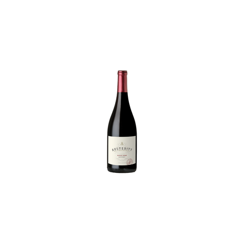 Austerity Monterey 2017 Pinot Noir ABV: 14.5% 750 mL