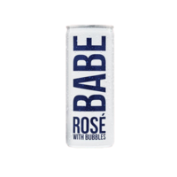 Babe Rosé with Bubbles ABV: 12% Can 375 mL