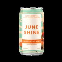 June Shine Blood Orange Mint Hard Kombucha ABV: 6% Can 16 fl oz