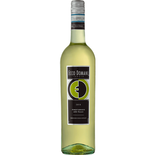 Ecco Domani 2019 Pinot Grigio ABV: 12.5% 187 mL