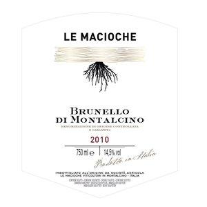 Le Macioche 2012 Brunello di Montalcino ABV: 14.5% 750 mL