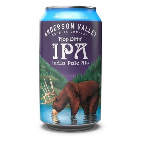 Anderson Hop Ottin IPA ABV: 7% Bottle 22 fl oz