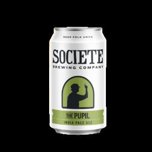 "Societe ""Pupil"" IPA ABV: 7.5% Can 12 fl oz 6-Pack"