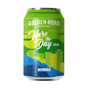 Golden Road Haze the Day IPA ABV: 6.8% Can 12 fl oz 6-Pack