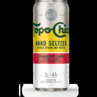 Topo Chico Hard Seltzer Strawberry Guava ABV: 4.7% Can 24 fl oz
