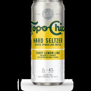 Topo Chico Hard Seltzer Tangy Lemon Lime ABV: 4.7% Can 24 fl oz