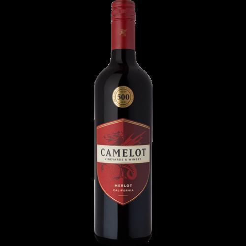 Camelot 2018 Merlot ABV: 13.5% 750 mL