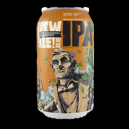 Brew Free or Die IPA ABV: 7% Can 6-12 fl oz 6-Pack